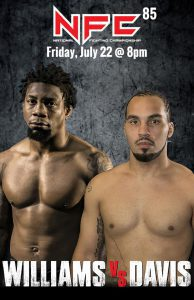 Nasty Nate's NFC 85 Fight Poster