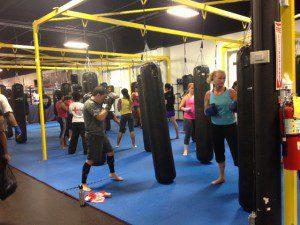 X3 Sports Kickboxing Class