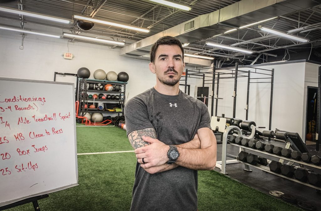 Byron Bloodworth is the head athletic trainer at X3 Sports: North Marietta. He teaches our Fast Track, Power Track, and kickboxing classes. (Training spotlight at x3sports)