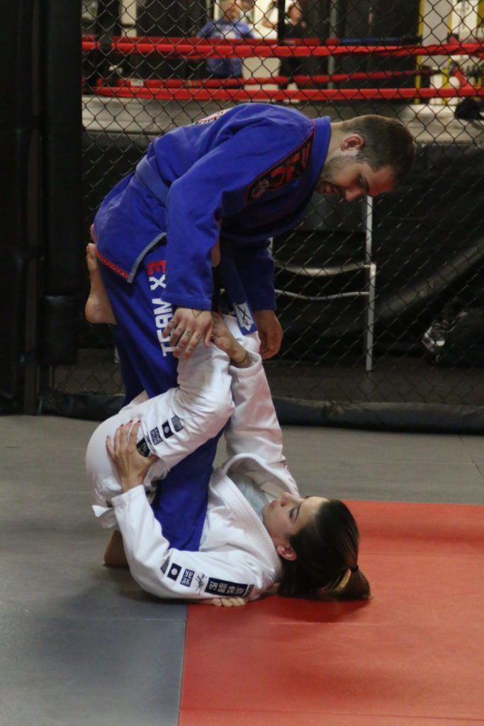 Robert Shonfelt during Brazilian Jiu Jitsu class at X3 Sports West Midtown.