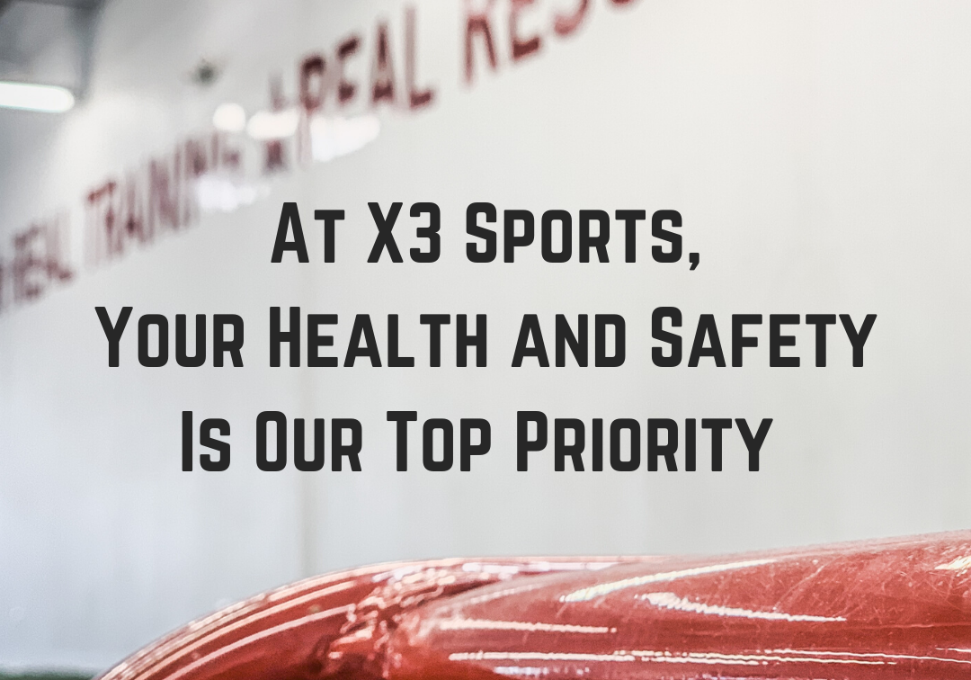 We're Working Hard To Protect You | COVID-19 | X3 Sports