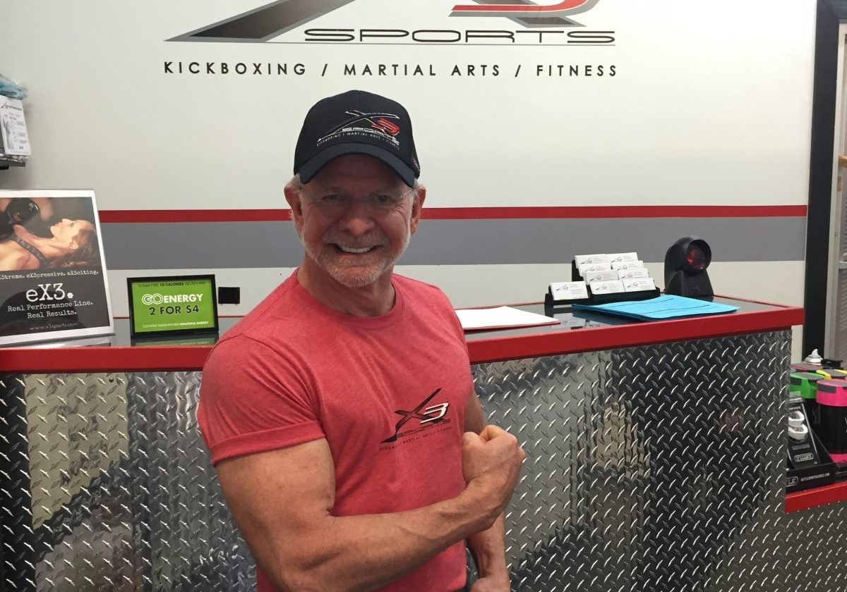 Robert Hollander Success through Personal Training at X3 Sports